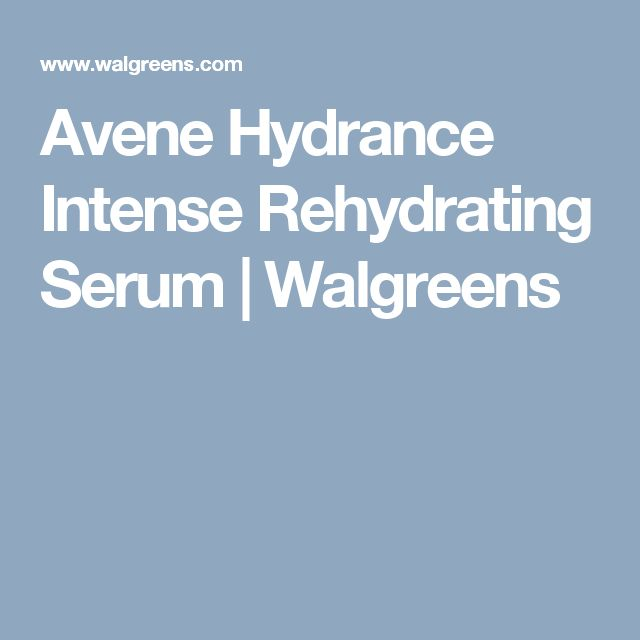 Avene Hydrance Intense Rehydrating Serum | Walgreens
