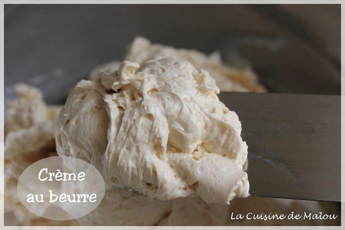 La crème au beurre, la recette classique au sirop La cuisine de Malou