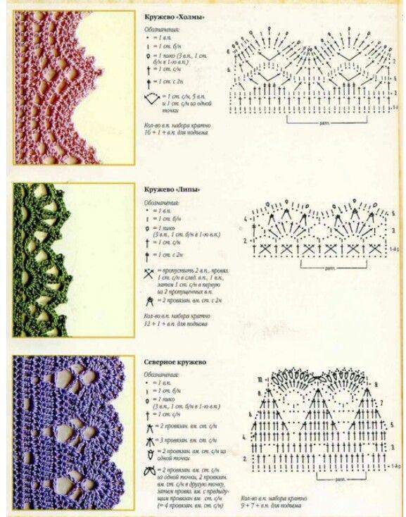 316 mejores imágenes de Crochet and Knit en Pinterest | Punto de ...