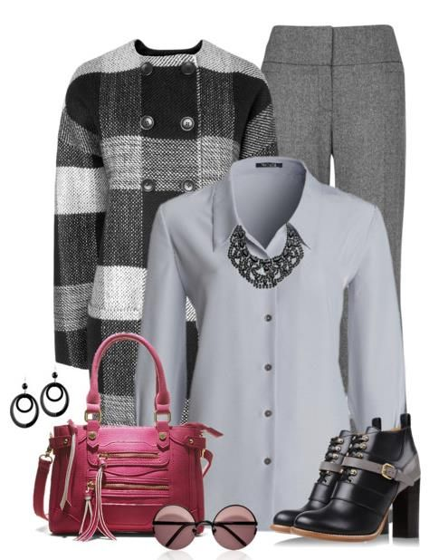 Modern Work Outfit Polyvore