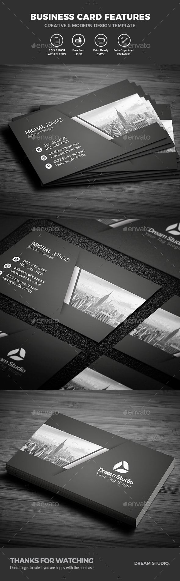 Business Cards - #Business Cards Print #Templates Download here:  https://graphicriver.net/item/business-cards/20122227?ref=alena994