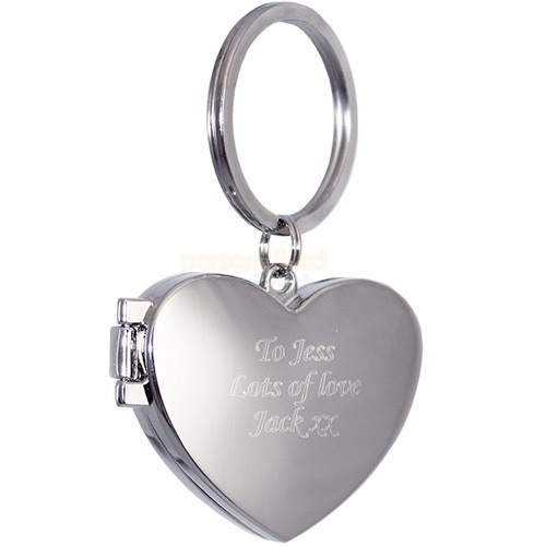 Personalised Photo Locket Keyring  from Personalised Gifts Shop - ONLY £18.95