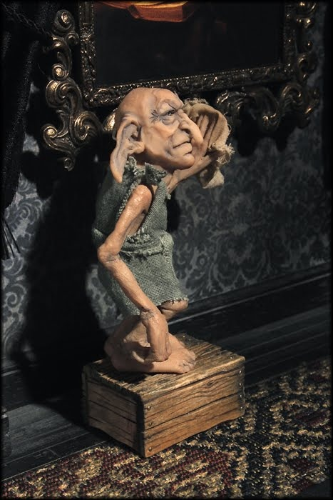 Kreacher from Harry Potter - he's the House Elf who lived with Sirius Black's Family!