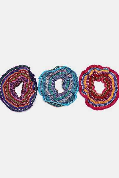 Unique Batik Ikat Scrunchie - Urban Outfitters
