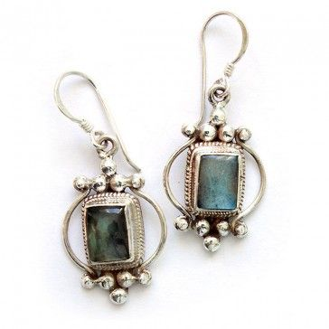 Labradorite Earrings 1 - Earrings - Silver Jewellery - Jewellery