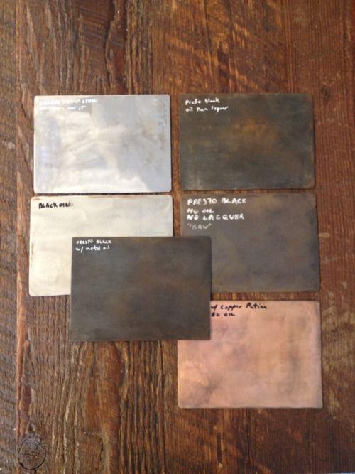 Building Metal Finishes : Metal finishes building materials on the walls floor