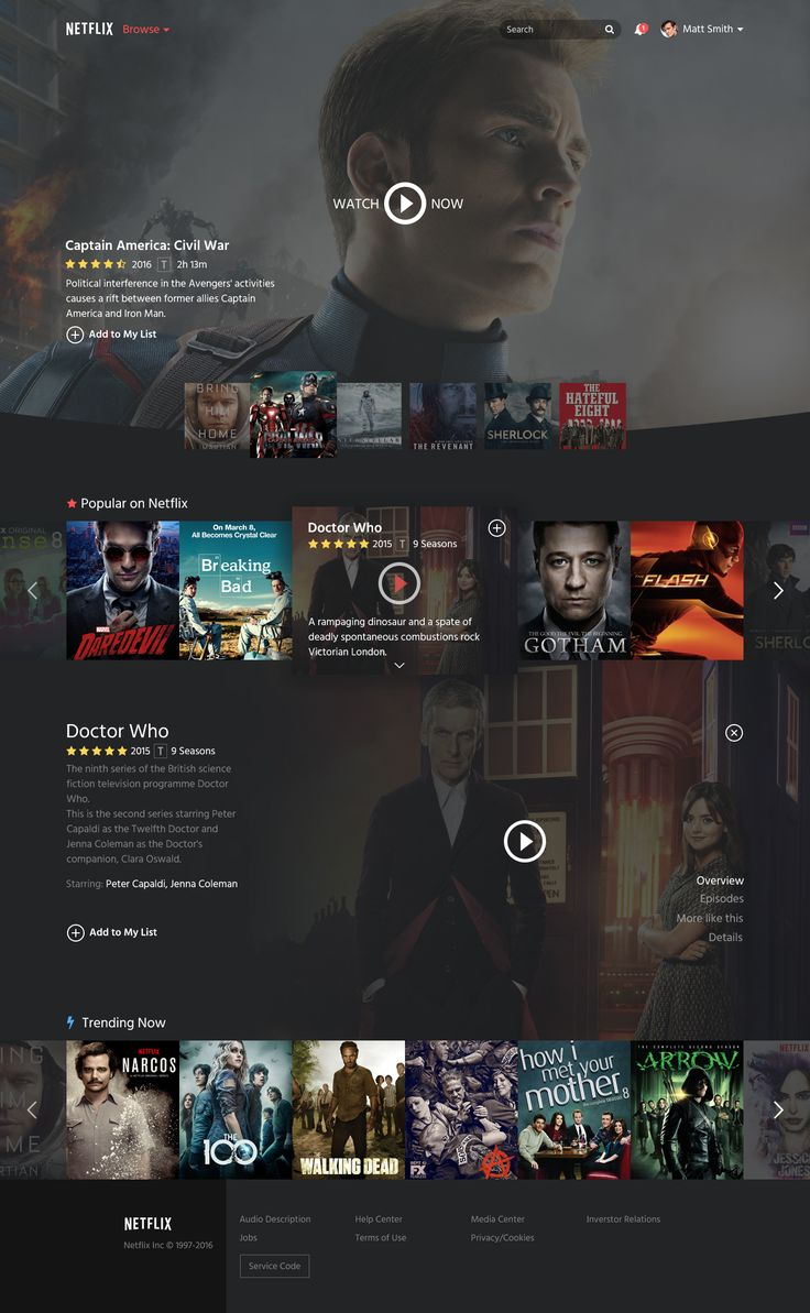 Netflix Restyle on Behance