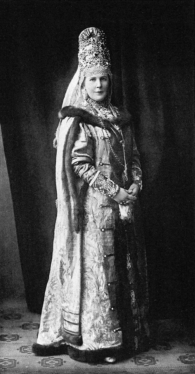Baroness Maria V. Shtakelberg, born. Baroness Kaulbars (Boyar vѣka XVII)....097 by klimbims on deviantART