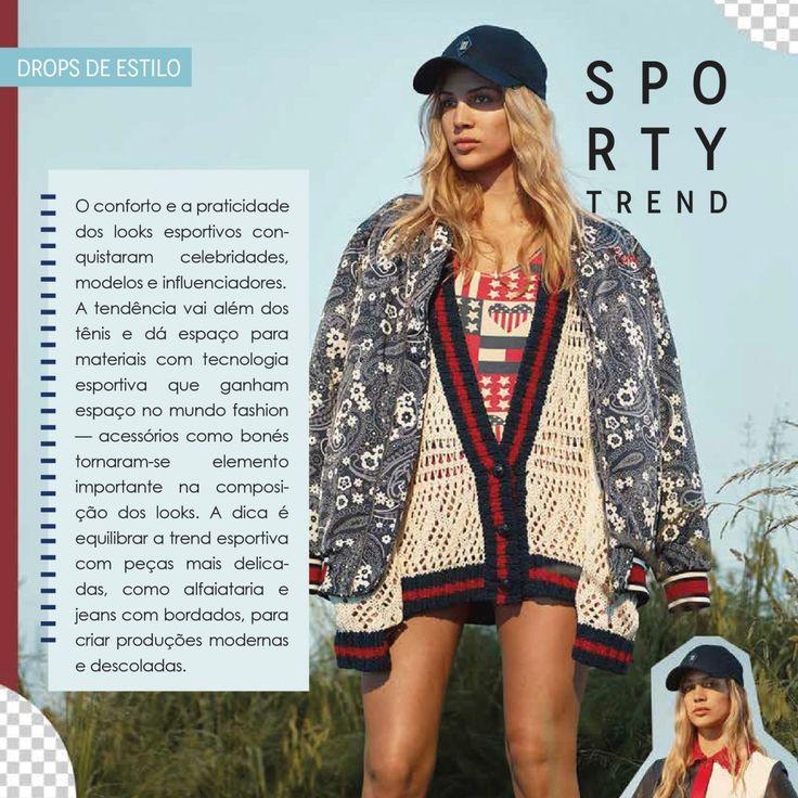 Visite a página para saber mais!! Sporty Trend!! #sporty #tendência #camminare #estilo #verão