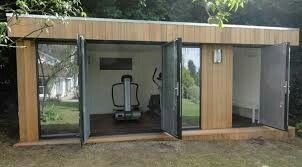 17 best images about garden office on pinterest gardens for Garden office gym
