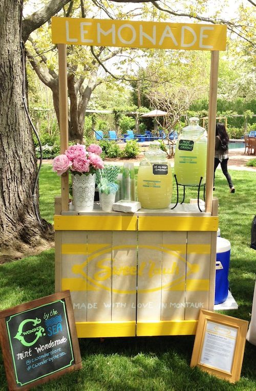 52 best lemonade carts tables and stands images on for How to build a lemonade stand on wheels