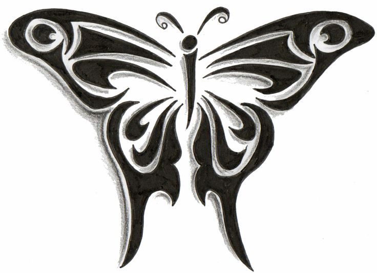tribal butterfly tattoo design tattoo tattoodesign butterfly tribal tattoo designs. Black Bedroom Furniture Sets. Home Design Ideas