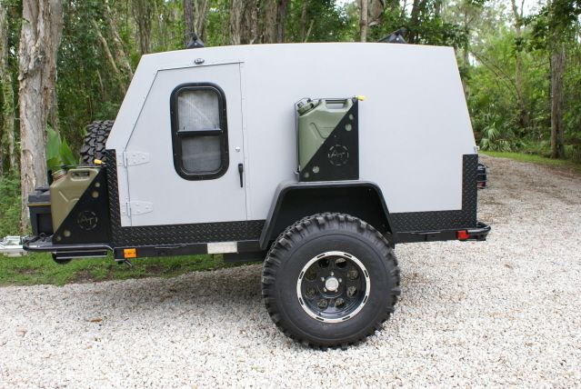 OffRoad Trailer Simple design Need a beefy trailer