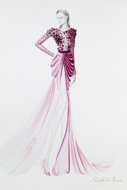 Ralph Russo's Couture #fashion #illustration #evatornadoblog #mycollection