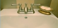 How to Remove Hard Water Stains with Vinegar: Clean Porcelain Sinks, Diy'S Bathroom, Color Schemes, Removal Stains, Bathroom Sinks, Removal Hard, Color Bathroom, Hard Water Stains