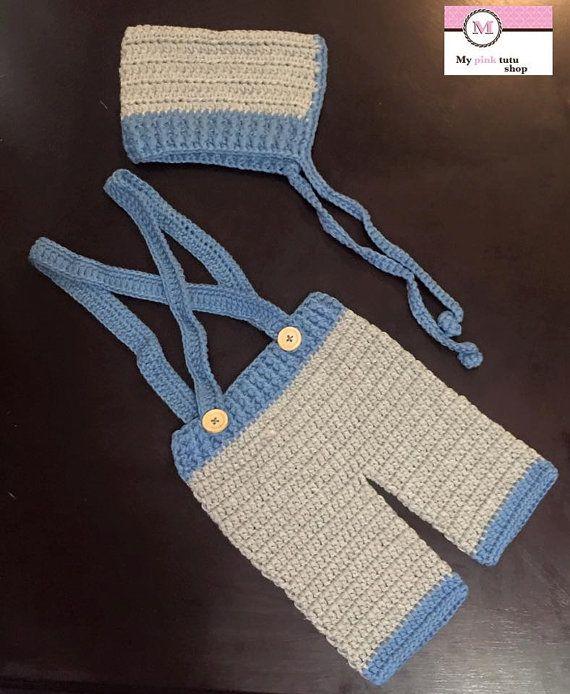 baby boy crochet set, Newborn baby  boy set, Crochet baby boy set,