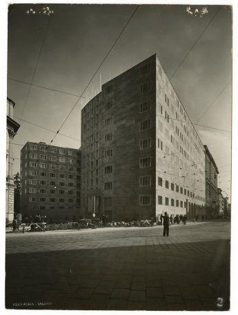 Giò Ponti - Palazzo Montecatini, Milano