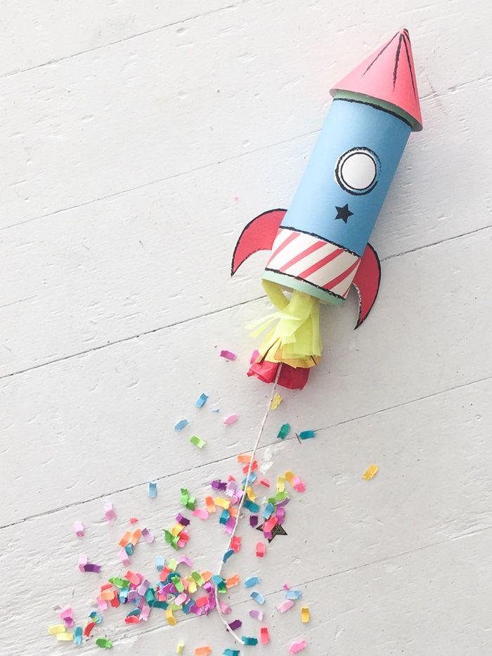 Comment fabriquer un canon à confettis en forme de fusée - Articles - Family LEGO.com