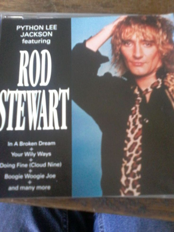 Python Lee Jackson feauting Rod Stewart CD