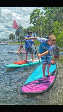 Coastal Paddle Boarding, Port Salerno, Florida (near Stuart)