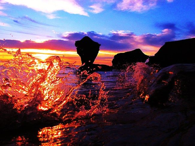 Crystal sunrise by Austin Maclin, Kensington, PEI