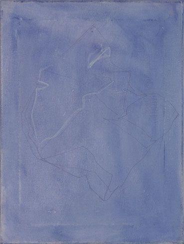 """""""Ciò che manca parte 2"""" 2012, pastello e olio su tela, cm 50 x 35"""