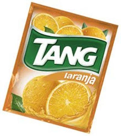 En mi casa se tomaba de naranja y teníamos la jarra del tang