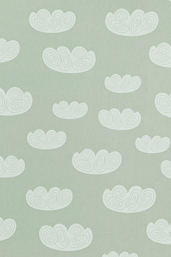 Ferm Living Tapet In The Rain : Ferm Living Tapet Cloud Baby room Pinterest Cloud