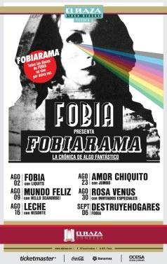 Fobiarama, Amor chiquito con Jumbo, Agosto 23, El Plaza Condesa