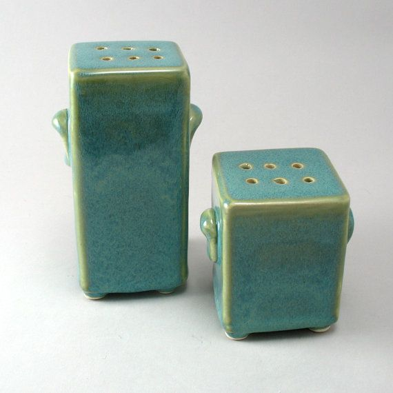 Exceptional Salt U0026 Pepper Shakers By Cherylwolff On Etsy, $48.00