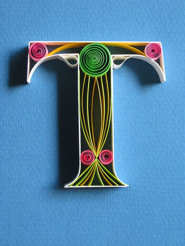 the art of typography 79 by sabeena karnik typography quilling and behance