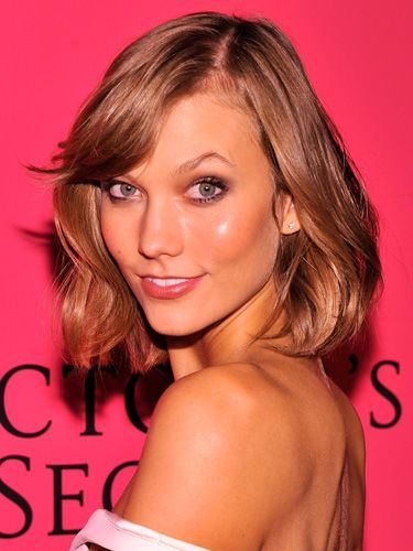 Karlie Kloss. I think this haircut is going to happen soon...