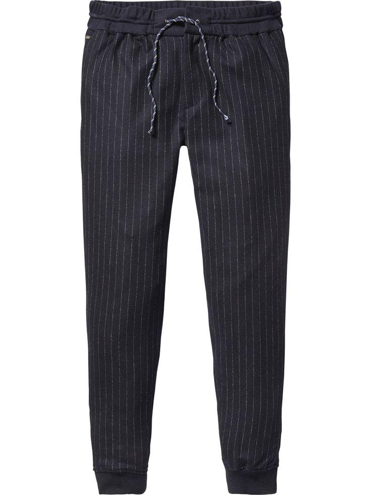 Woollen Chino Joggers - Thorne | Sweat / Jersey Pants | Men Clothing at Scotch & Soda