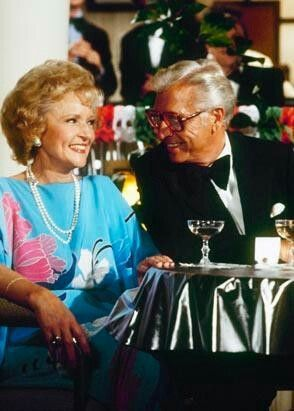 """Betty White, and her husband Allen Ludden. he hosted the game show, """"Password""""."""