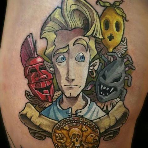 monkey island tattoo - Google Search