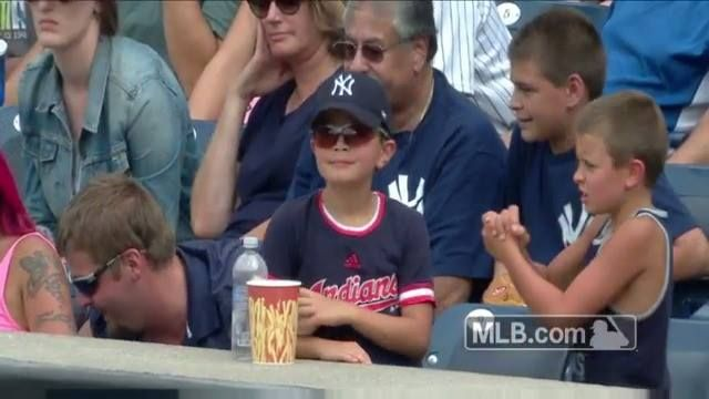 Family affair at the New York Yankees game today: http://atmlb.com/2b1Z4dF