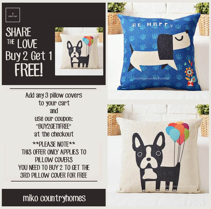 $15 | Dog Lover Throw Pillow Cushion Cover – R.atelier #Dog #Doggy #DogMatters #DogLover #HomeDecor #PillowCovers #CushionCovers #DecorTrends #BUY2GET1 #GiftsForHer #GiftsIdeas #Decorate