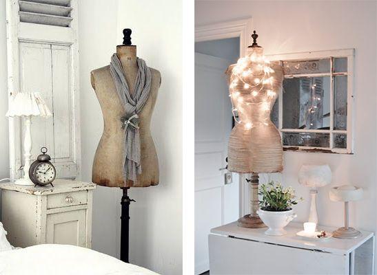 la fabrique d co les mannequins de couture tendance. Black Bedroom Furniture Sets. Home Design Ideas