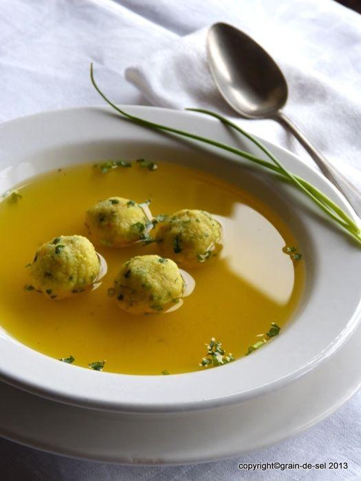 43 besten Rezepte - Suppen Klösschen, Nockerl Bilder auf - gruß aus der küche rezepte