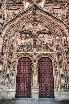 Salamanca Cathedral Spain When you're there you have to look for the rana (frog), it's good luck!