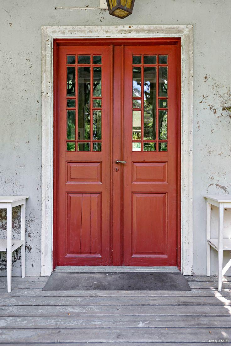 Vackra dubbeldörrar