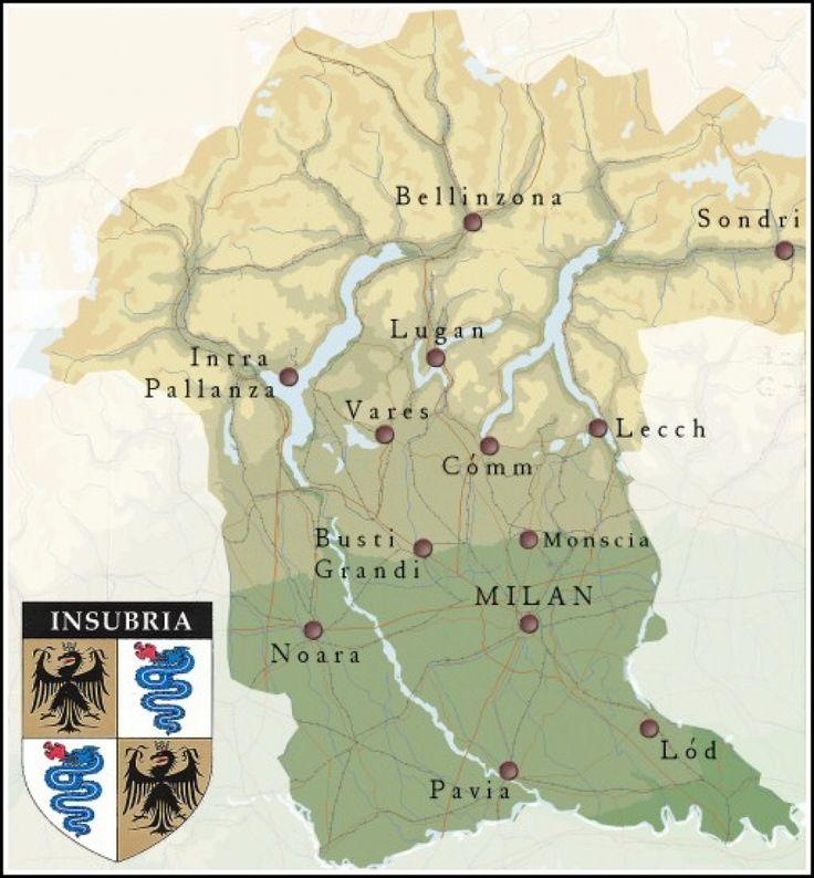 L'Insubria, la regione che non c'è