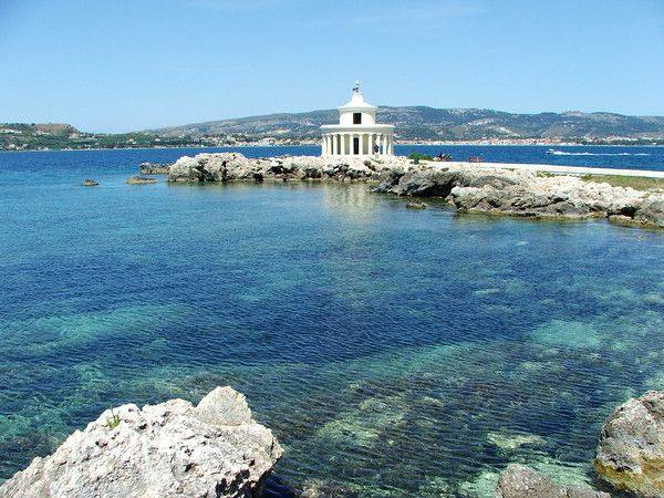 Kefalonia, Argostoli - the most crystal clear water