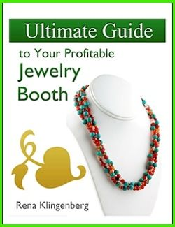 Ultimate Guide to Your Profitable Jewelry Booth, a very interesting book link. I should get it,