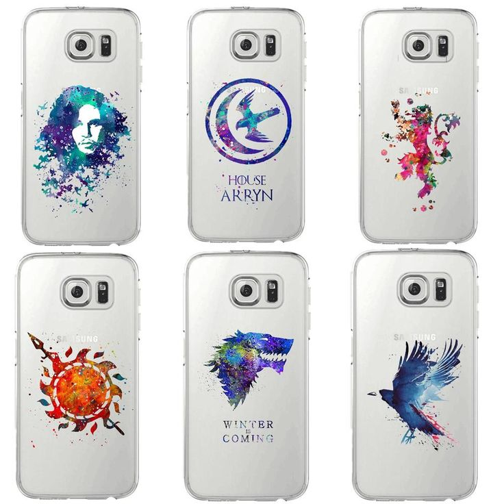 Attention Game of Thrones fans! Add this in your collection   Watercolor |art G...  Get it now at  http://www.kingslandingmarket.com/products/watercolor-art-game-of-thrones-houses-soft-silicone-tpu-phone-case-cover-for-samsung-galaxy-s5-s6-edge-s7-edge-s8-plus?utm_campaign=social_autopilot&utm_source=pin&utm_medium=pin