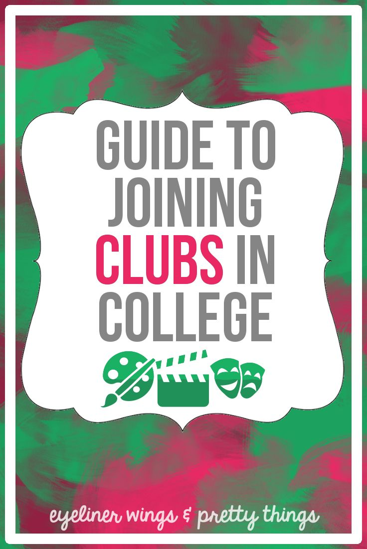 The Ultimate Guide to Joining Clubs in College // eyeliner wings & pretty things