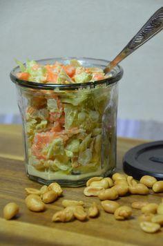 Weißkohl Salat            Hallo Ihr Lieben     heute ist wieder ein Thermomix Rezept dran     und ich zeige Euch mein Lieblings Salat     ...