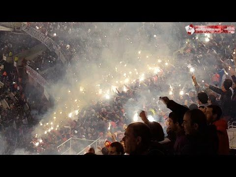 Terrible recibimiento para River. River - Tigres. Final. Copa Libertadores 2015. FPT: - YouTube