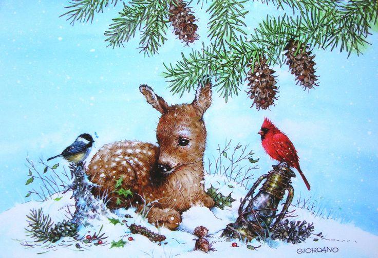 Cardinal Christmas Tree Ornaments