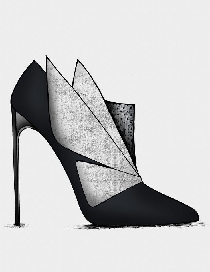 ● The Black & Blue - Collection www.guillaumebergen.com #FashionIllustration. Zippertravel.com Digital Edition